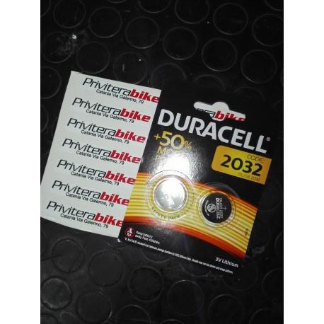 Batterie Duracell CR 2032