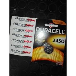 Batteria Duracell CR 2450