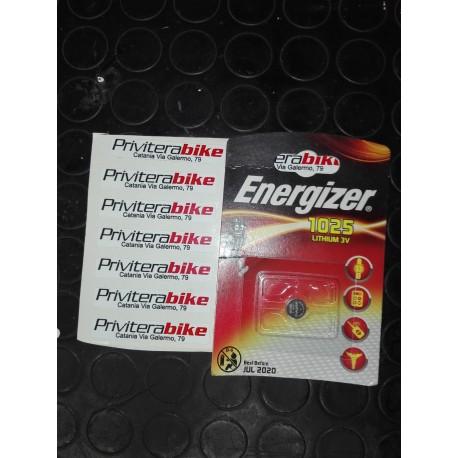 Batteria Energizer 1025