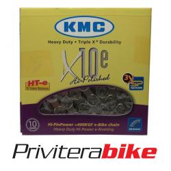 Catena 10V X10E per bici elettriche, 114 maglie