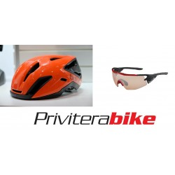 KIT casco+occhiali Bollè