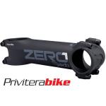 ZERO1 STEM/ATTACCO, 80 MM, BLACK ON BLACK (BOB), ALLOY 6061, 82°  DZ1BOB080